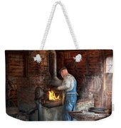 Blacksmith - The Importance Of The Blacksmith Weekender Tote Bag by Mike Savad