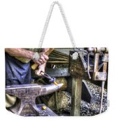 Blacksmith Working Iron V1 Weekender Tote Bag