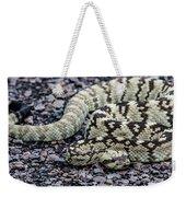 Blacktailed Rattlesnake Weekender Tote Bag