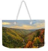 Blackwater Gorge With Fall Leaves Weekender Tote Bag by Dan Friend