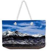 Blanca Mountains Near Fort Garland Colorado Weekender Tote Bag