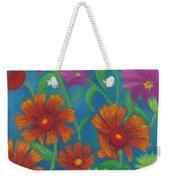 Blanket Flowers And Cosmos Weekender Tote Bag