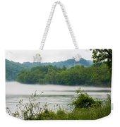 Blanket Of Fog On Clinch River  Weekender Tote Bag