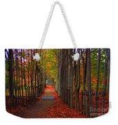 Blanket Of Red Leaves Weekender Tote Bag