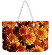 Blaze Of Flowers Weekender Tote Bag