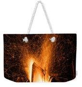Blazing Bonfire Weekender Tote Bag
