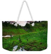 Blazing Dawn Weekender Tote Bag