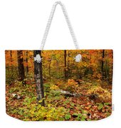 Blazing Forest Weekender Tote Bag