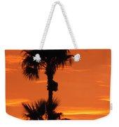 Blazing Sunset Weekender Tote Bag