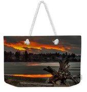 Blazing Sunset II Weekender Tote Bag