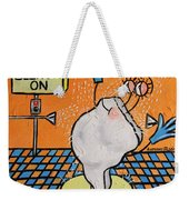Bleached Tooth Weekender Tote Bag by Anthony Falbo