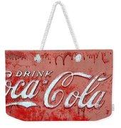 Bleeding Coke Red Weekender Tote Bag
