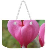 Bleeding Harts Upclose Weekender Tote Bag by Duane McCullough