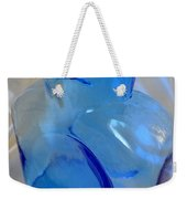 Blenko Blue Weekender Tote Bag