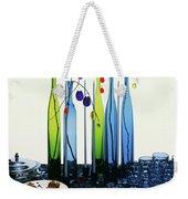 Blenko Glass Bottles Weekender Tote Bag