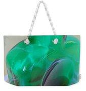 Blenko Green Weekender Tote Bag