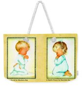 Bless Us All And A Childs Prayer Weekender Tote Bag