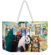 Blessed Is He Who Has Come Weekender Tote Bag