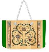 Blessed Trinity Weekender Tote Bag