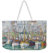 Blessing Of The Tuna Fleet At Groix Weekender Tote Bag