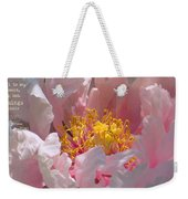 Blessings And Blossoms  Weekender Tote Bag