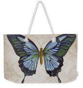Bleu Papillon-a Weekender Tote Bag