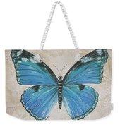 Bleu Papillon-b Weekender Tote Bag
