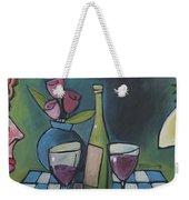 Blind Date With Wine Weekender Tote Bag
