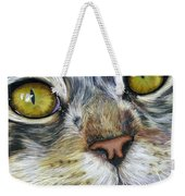 Stunning Cat Painting Weekender Tote Bag