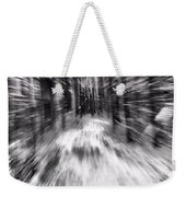 Blizzard In The Forest Weekender Tote Bag