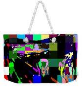 Blocked Scream Weekender Tote Bag