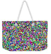 Blocks And Swirls Weekender Tote Bag