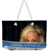 Blond Girl Weekender Tote Bag