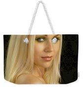 Blonde Beauty Weekender Tote Bag