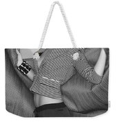Blonde Movement Bw Palm Springs Weekender Tote Bag