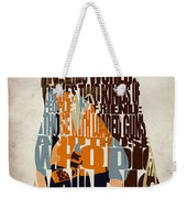 Blondie Poster From The Good The Bad And The Ugly Weekender Tote Bag