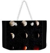 Blood Moon Lunar Eclipse 2014 Color Weekender Tote Bag