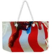 Blood Sweat And Tears Fallen For Freedom Weekender Tote Bag