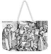Bloodletting, 1540 Weekender Tote Bag