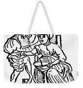 Bloodletting, 15th Century Weekender Tote Bag