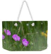 Bloody Cranesbill Wild Flowers Weekender Tote Bag
