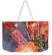Bloom In Orange Weekender Tote Bag