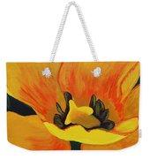 Bloomed Yellow Tulip Weekender Tote Bag