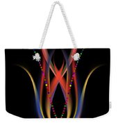 Blooming Digital Artwork Weekender Tote Bag