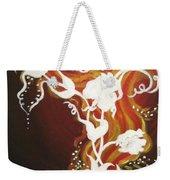 Blooming Flame Weekender Tote Bag