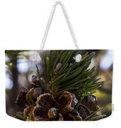 Blooming Pinecone Weekender Tote Bag