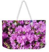 Blooming Pink Azaleas Weekender Tote Bag