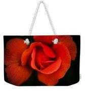 Blooming Red Rose Weekender Tote Bag