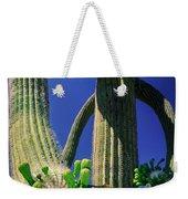 Blooming Saguaro Weekender Tote Bag
