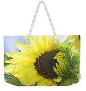 Blooming Sunflower Weekender Tote Bag